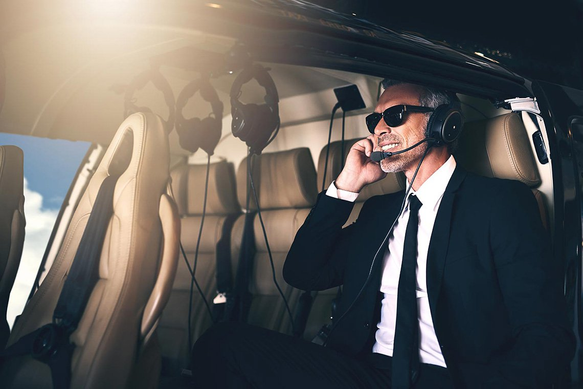 Executive Helicopter Charters in San Francisco